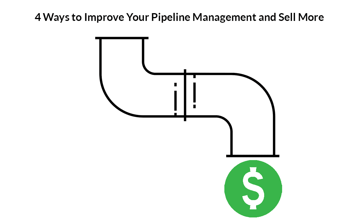 4 ways to improve your sales pipeline management and sell more