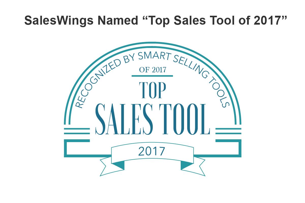saleswings named top sales tool of 2017 saleswings